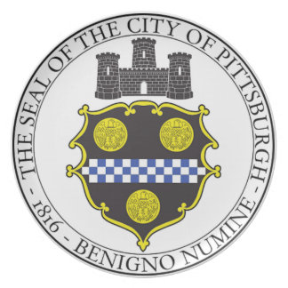 Pittsburgh City Seal Plate