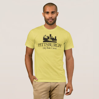 PITTSBURGH CITY THAT I LOVE T-SHIRT