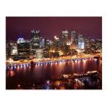 Pittsburgh Cityscape Postcard