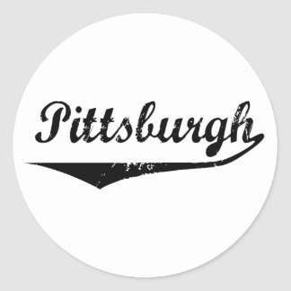 Pittsburgh Classic Round Sticker
