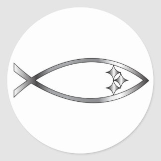 Pittsburgh Fish Classic Round Sticker