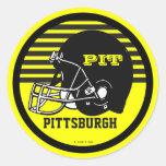Pittsburgh Football Sticker