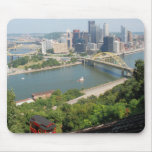 Pittsburgh from Mt. Washington Mouse Pads