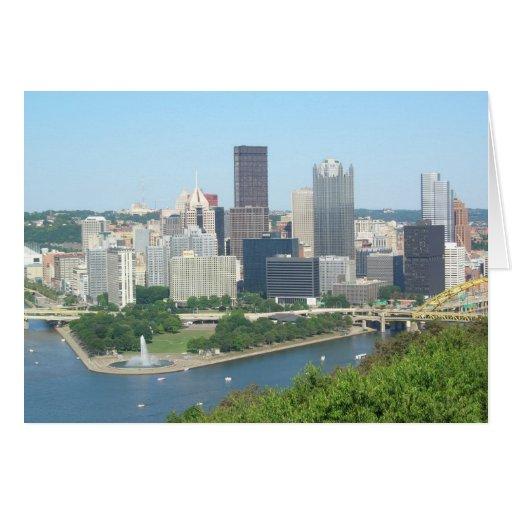 Pittsburgh Greeting Card