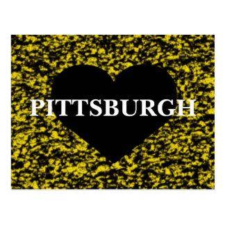 Pittsburgh Heart Postcard