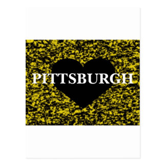 Pittsburgh Heart Postcard