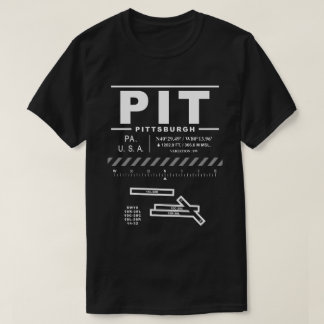 Pittsburgh International Airport PIT T-Shirt