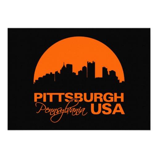 PITTSBURGH invitation - customize