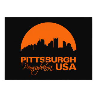 PITTSBURGH invitation - customize