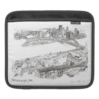 Pittsburgh iPad Sleeve