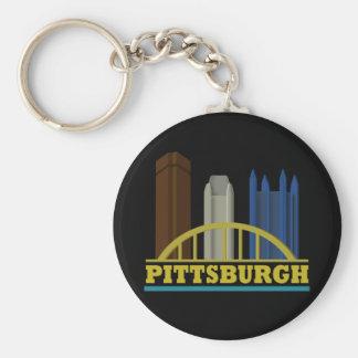 Pittsburgh Key Ring