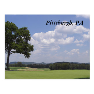Pittsburgh Landscape Postcard