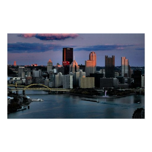 Pittsburgh Last Light Posters