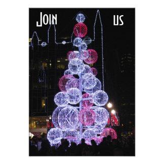 PITTSBURGH LITE UP NIGHT CHRISTMAS INVITATION