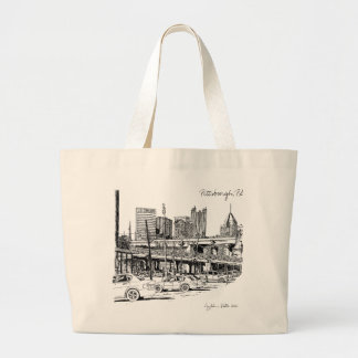 Pittsburgh Luxury Tote Bag