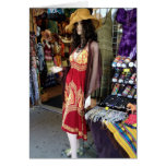 PITTSBURGH MANNEQUIN FOR SHARED BIRTHDAY FRIEND GREETING CARD