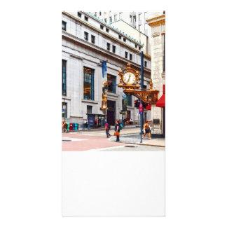 Pittsburgh PA - Corner of Smithfield and Fifth Custom Photo Card