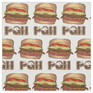 Pittsburgh PA Pennsylvania PGH Sandwich Foodie Fabric