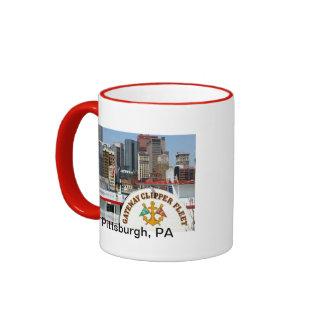 Pittsburgh Pa photography Ringer Mug