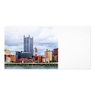 Pittsburgh PA Skyline Photo Card