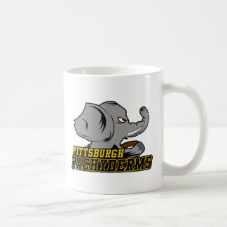 Pittsburgh Pachyderms Store Basic White Mug