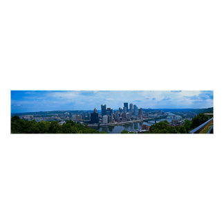 Pittsburgh Panorama Poster