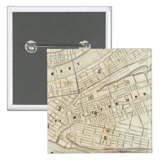 Pittsburgh, Pennsylvania 15 Cm Square Badge