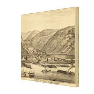 Pittsburgh, Pennsylvania Canvas Print
