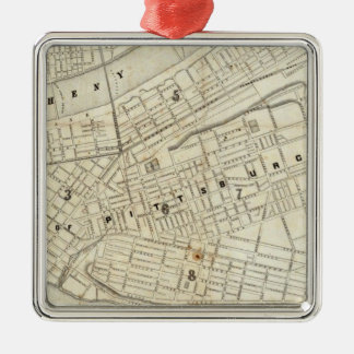 Pittsburgh, Pennsylvania Christmas Ornament