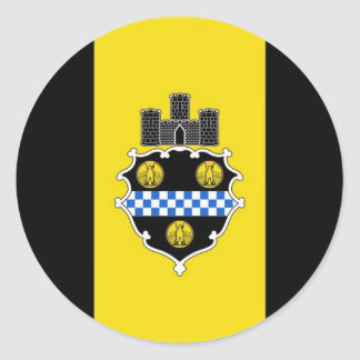 Pittsburgh Pennsylvania Classic Round Sticker