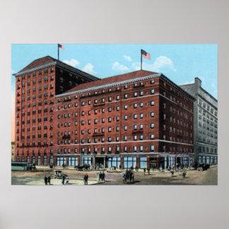 Pittsburgh Pennsylvania Fort Pitt Hotel Print