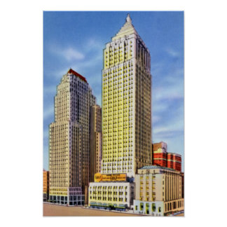 Pittsburgh Pennsylvania Koppers and Gulf Building Poster