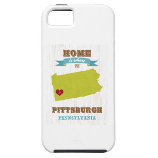 Pittsburgh, Pennsylvania Map – Home Is Where iPhone 5 Covers