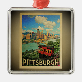 Pittsburgh Pennsylvania Ornament Vintage Travel