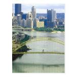 Pittsburgh Pennsylvania Rivers Post Card