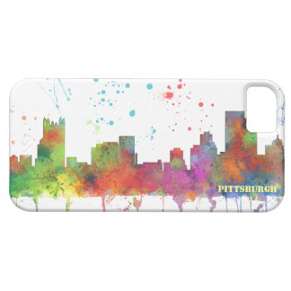PITTSBURGH PENNSYLVANIA SKYLINE iPhone 5 CASE