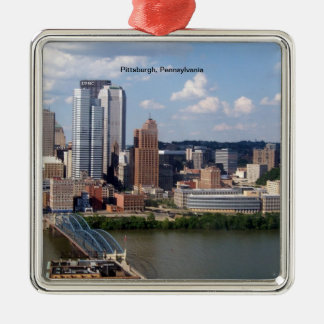 Pittsburgh, Pennsylvania Skyline ornament