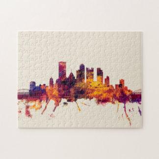Pittsburgh Pennsylvania Skyline Puzzle