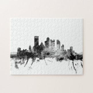 Pittsburgh Pennsylvania Skyline Puzzles