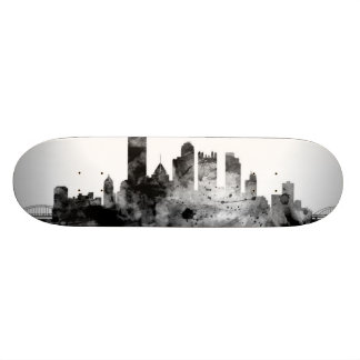 Pittsburgh Pennsylvania Skyline Skateboard Decks