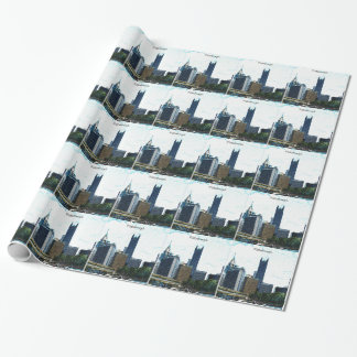 Pittsburgh Pennsylvania Skyline Wrapping Paper