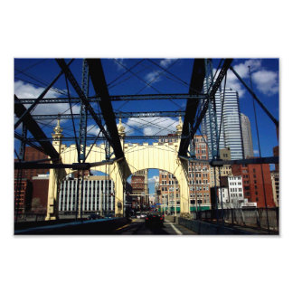 Pittsburgh Photo Print View From Bridge