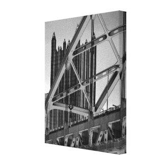 Pittsburgh-PhotoWall Canvas-PPG- Canvas Print