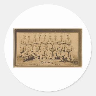 Pittsburgh Pirates 1913 Round Sticker
