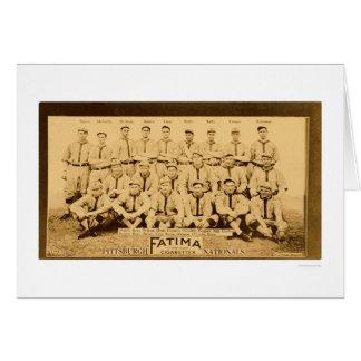 Pittsburgh Pirates Team 1913 Card