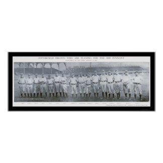 Pittsburgh Pirates Team Photo 1905 Poster