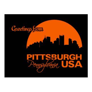 PITTSBURGH postcard - customizable