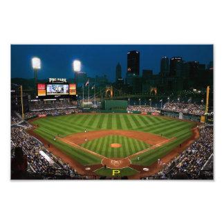 Pittsburgh Prints Baseball Night View Photo Print