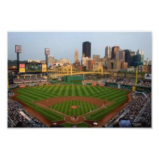 Pittsburgh Prints Baseball View Photographic Print