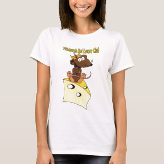 Pittsburgh Rat Lovers Club Dark Brown Rat Logo T-Shirt